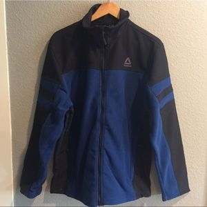 NWT Reebok soft shell fleece windbreaker jacket